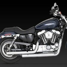 04-13 HARLEY SPORTSTER XL 883/1200 Straightshots Exhaust VANCE & HINES 17821