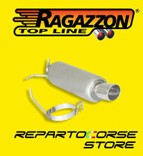 RAGAZZON TERMINALE SCARICO ROTONDO 90mm SUZUKI SWIFT 1.3 16V 68kW 18.0487.60