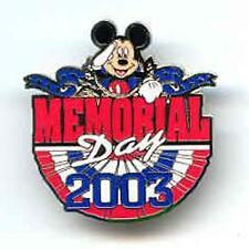 Disney WDW Memorial Day Mickey Mouse Pin