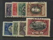 Liechtenstein  62-69 used   catalog  $159.00
