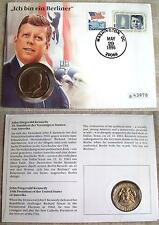 Ungeprüfte Briefmarken aus Nordamerika im Ersttagsbrief-Erhaltungszustand