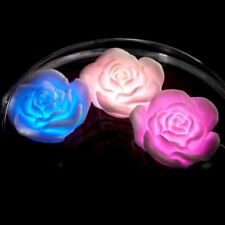Rose Spa Lights Bath Glows Hot Tubs Garden Pools Mood Lights