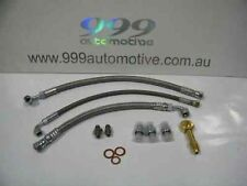 new for Nissan SILVIA S14/s15 SR20DET turbo 200sx BRAIDED OIL WATER LINE KIT