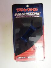 TRAXXAS - ENGINE MOUNT, MACHINED 6061 T-6 ALUMINUM (BLUE) - MODEL# 4960X