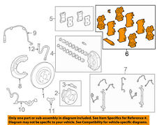 Lexus TOYOTA OEM 07-09 LS460 Brake-Front-Hardware Kit 0494550080