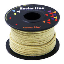 200ft 100lb Braided Kevlar Line for Camping Hiking Outdoor Packing Making Repair