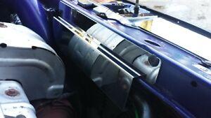 Mk1 Focus RS slam panel heat shield stainless steel