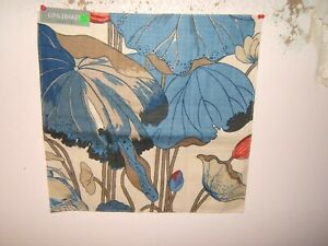 Lee Jofa, GP & J Baker, Nympheus Linen, Water Lilies, Various Sizes and Colors