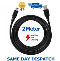2m Long Charger Charging Lead Cable For PlayStation PS3 Slim Wireless Controller