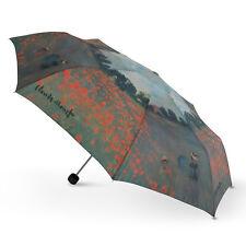 NUOVA collezione Cascada-Claude Monet Poppy Campo artista Ombrello Pieghevole Stampa