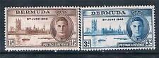 Bermuda 1946 Victoire 2 V SG 123/4 Neuf sans charnière