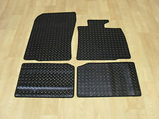 BMW Mini Countryman (R60) 2010-16 Fully Tailored RUBBER Car Mats in Black.