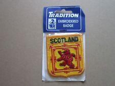 Scotland Woven Cloth Patch Badge