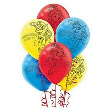 Paw Patrol 12 inch Helium Quality Latex Balloons (6 pack)