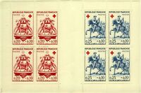 France 1960 Red Cross Fund Booklet Featuring Saint Martin sg1507/8 UM