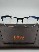 NEW HUGO BOSS ORANGE BLUE EYEGLASSES 0255 Q9H 53-19-135 UNISEX FRAMES RX