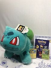 NWT Build-a-Bear  POKEMON BULBASAUR  with Sound, TCG cards