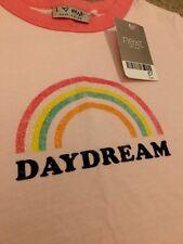 NEXT Girls Sparkly Rainbow Daydream T-Shirt Top Size 5 Years