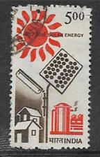 INDIA POSTAL ISSUE - QE1I ERA - 1988 - USED STAMP - SOLAR ENERGY - SCIENCE & TEC