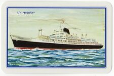 Playing Cards 1 Swap Card Vintage SPANISH LINE Cruise Ship T/N BEGONA Shipping 1