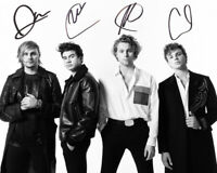 5 Seconds of Summer 5SOS SIGNED AUTOGRAPHED REPRINT 8X10 COLOR PHOTO POSTER TOUR