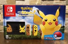 Nintendo Switch Pikachu & Eevee Edition/Pokemon:Let's Go Pikachu Bundle IN HAND