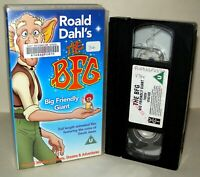 The BFG - Big Friendly Giant - VHS Tape & Case. - Collectable VHS
