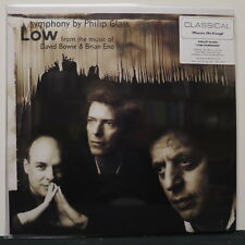 PHILIP GLASS 'Low Symphony' MOV 180g Vinyl LP David Bowie Brian Eno NEW/SEALED