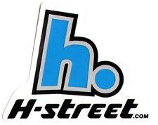 H-Street Skateboards Skateboard Sticker - skateboarding old school new skate sk8