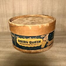 Vintage•1953•Dairy Queen•1/2 Gal•Cardboard Ice Cream Box•Champion Container Co