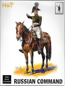 HäT/HaT Napoleonic Wars Russian Command - 1/32 Scale (54mm)
