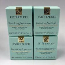 LOT 4 Estee Lauder Revitalizing Supreme+ Global Anti-Aging Creme .17oz 5ml Each