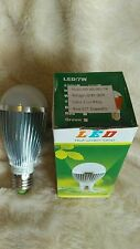 3 x 7W Dimmable ES E27 Cool White LED Light Lamp Bulb Low Energy 240V Job Lot