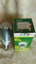 3 x 7W Dimmable ES E27 Cool White LED Light Lamp Bulb Low Energy 240V Job Lot