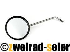 Spiegel, links - ø 90 mm, Spiegelarm Edelstahl, Simson S50, S51, SR50, Schwalbe