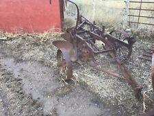 Farmall Ih Vintage 3 Bottom Plow Pull Type Steel Wheeled