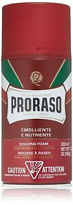 Proraso Shaving Foam, Moisturizing and Nourishing for Coarse Beards, 10.6 oz