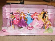Disney Store Disney Princess Figurine Playset Belle Pocohontas Aurora Mulan