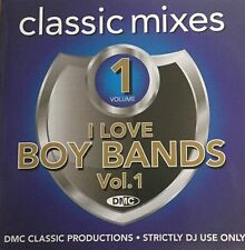 DMC Classic Mixes - I Love Boy Bands Volume 1 - CD For DJ Use Only