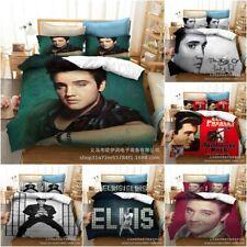 The King Elvis Presley Quilt Cover Bedding Set 3PCS Duvet Cover Pillowcase Gifts