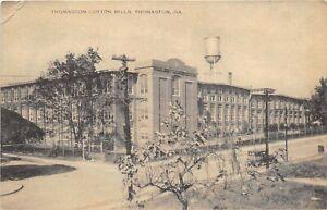 Thomaston Georgia 1920s Postcard Thomaston Cotton Mills