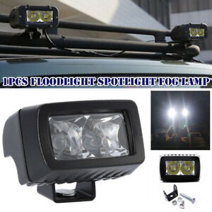 72W LED Work Light Spot Pods Bar Driving Fog Lamp Floodlight Off Road Truck Boat