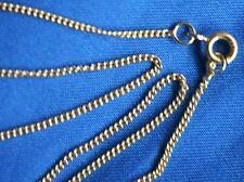 Halskette  45 cm    333 Gelbgold               Rundpanzerkette.     Konkursmasse