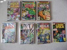 76 HULK COMICS AND SHE-HULK COMICS: BRONZE AGE TO MODERN AGE #182 KEY ISSUE