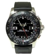 STAINLESS STEEL SPECIAL EDITION BREITLING AIRWOLF RAVEN CHRONOMETER WATCH A78364