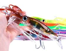 6 x Game Fishing Octopus Trolling Lure Skirt Lures Fishing Tackle Lures 230mm
