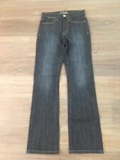 Ladies size 7 Dark blue JEANSWEST Tummy Trimmer Bootcut👖 Jeans  - *Great Con*