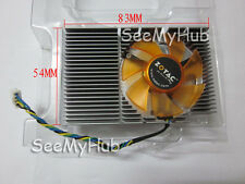 NEW Zotac 9400GT GT210 GT520 graphics card fan heatsink Firstd FD5010U12S 4-Pin