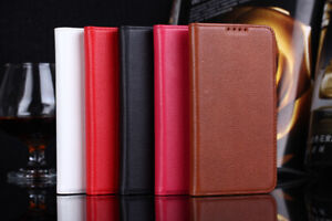 For Samsung Galaxy S5 Luxury Genuine Leather Phone Case Flip Wallet Cover
