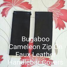 X2 Bugaboo Cameleon 1,2 3 en Cuir Synthétique Fermeture Éclair Sur Guidon Couvre